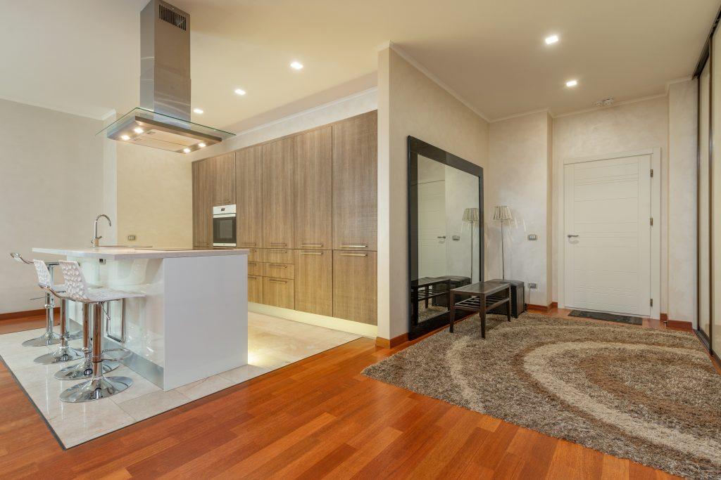 property styling with hardwood flooring